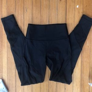 Lululemon Wunder Under Mesh Tights 4